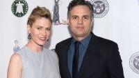 Mark Ruffalo and his wife Sunrise
