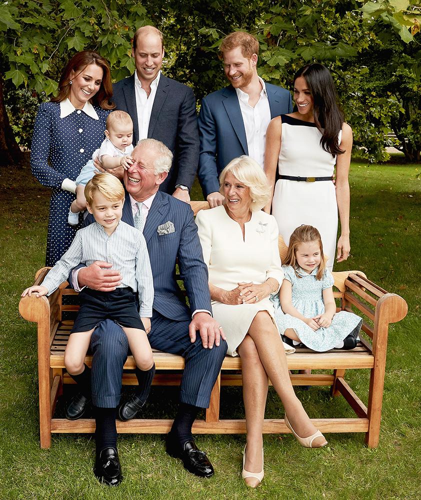 Prince Charles 70th Birthday Royal Family