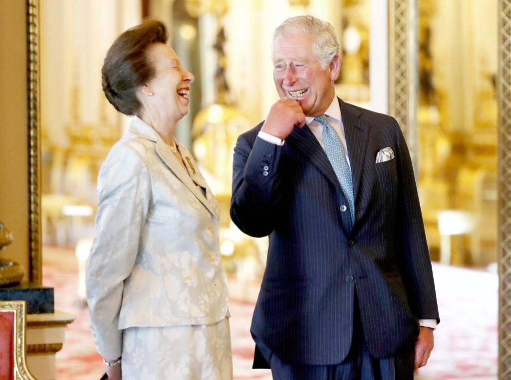 Prince Charles 70th Birthday Princess Anne