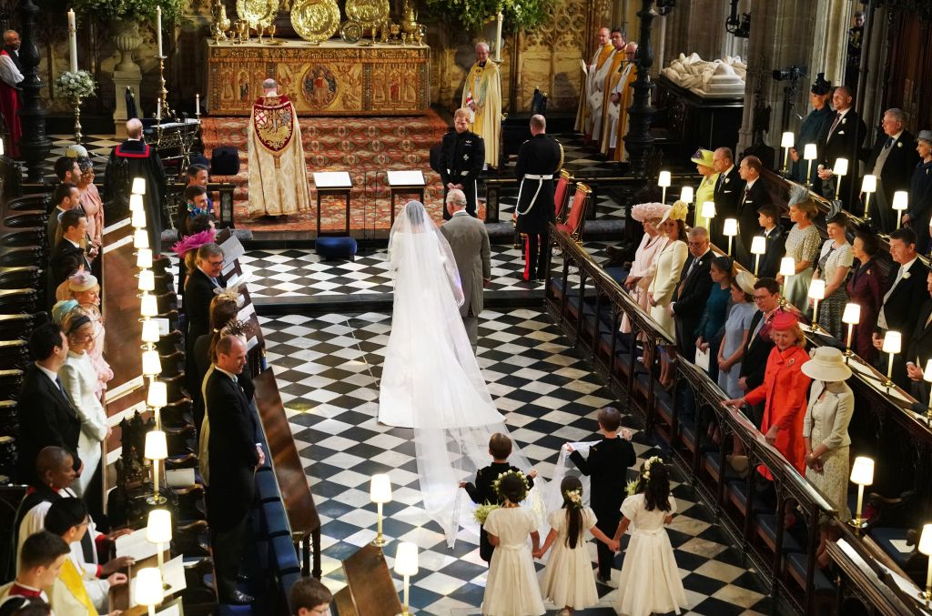 s she arrived accompanied by Prince Charle