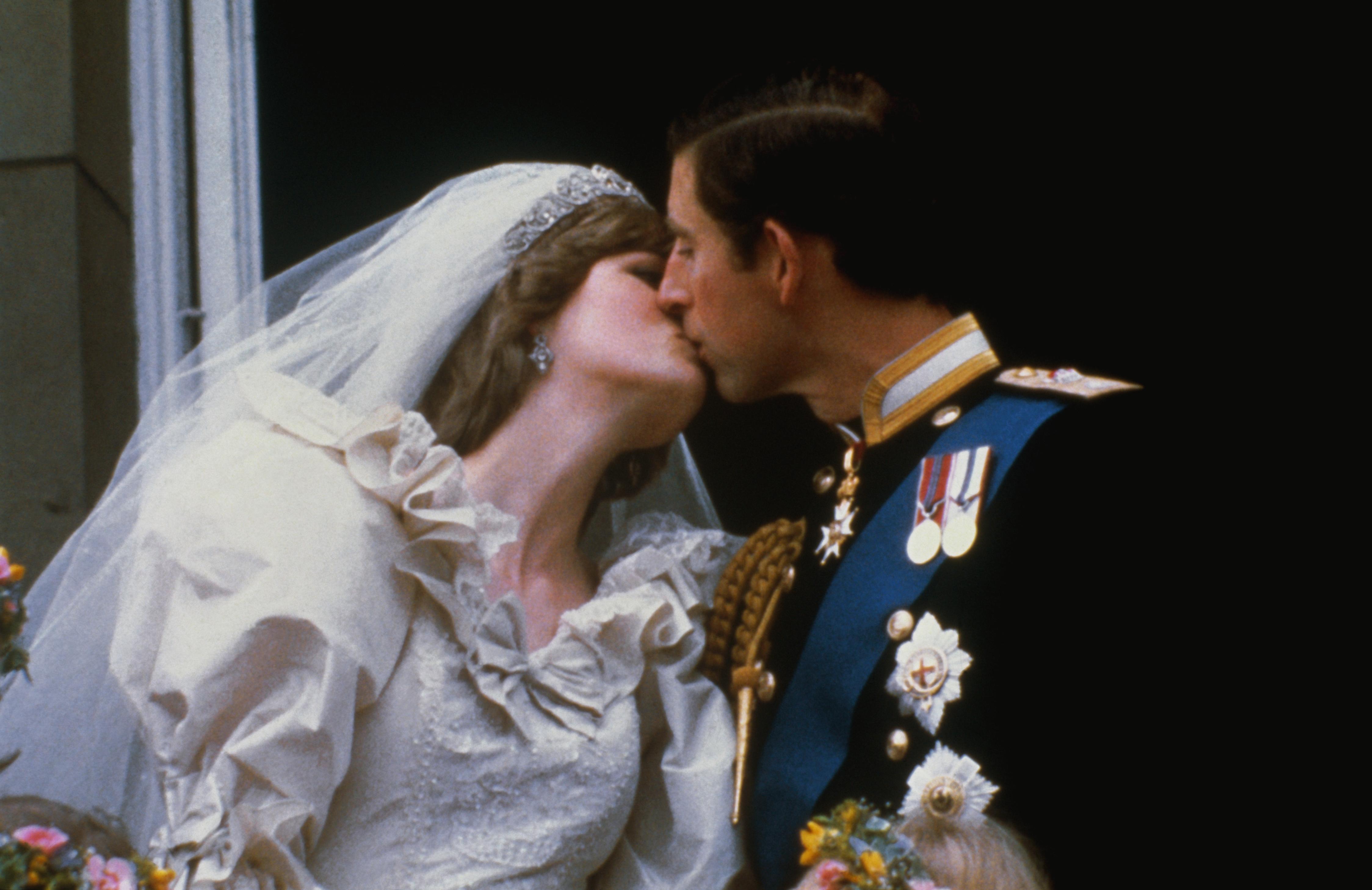 Princess Diana And Prince Charles Were First Royal Couple To Kiss