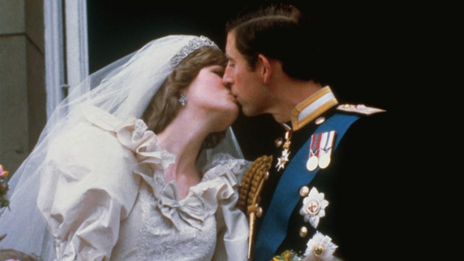 Charles Kissing Diana
