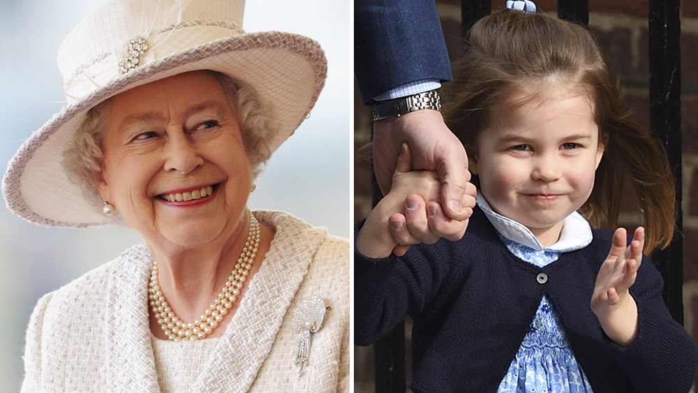 Queen Elizabeth Thinks Great-Granddaughter Princess Charlotte Is Her 'Mini-Me' (Exclusive)