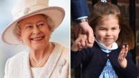 Queen Elizabeth Princess Charlotte