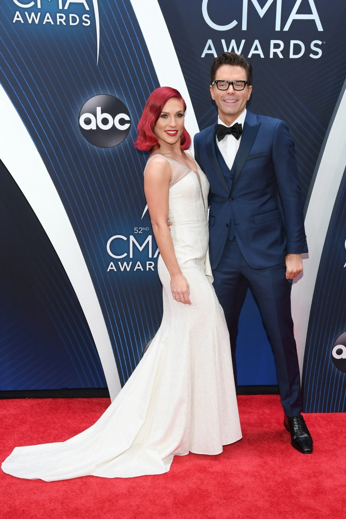 sharna-burgess-bobby-bones-cma-awards-2018