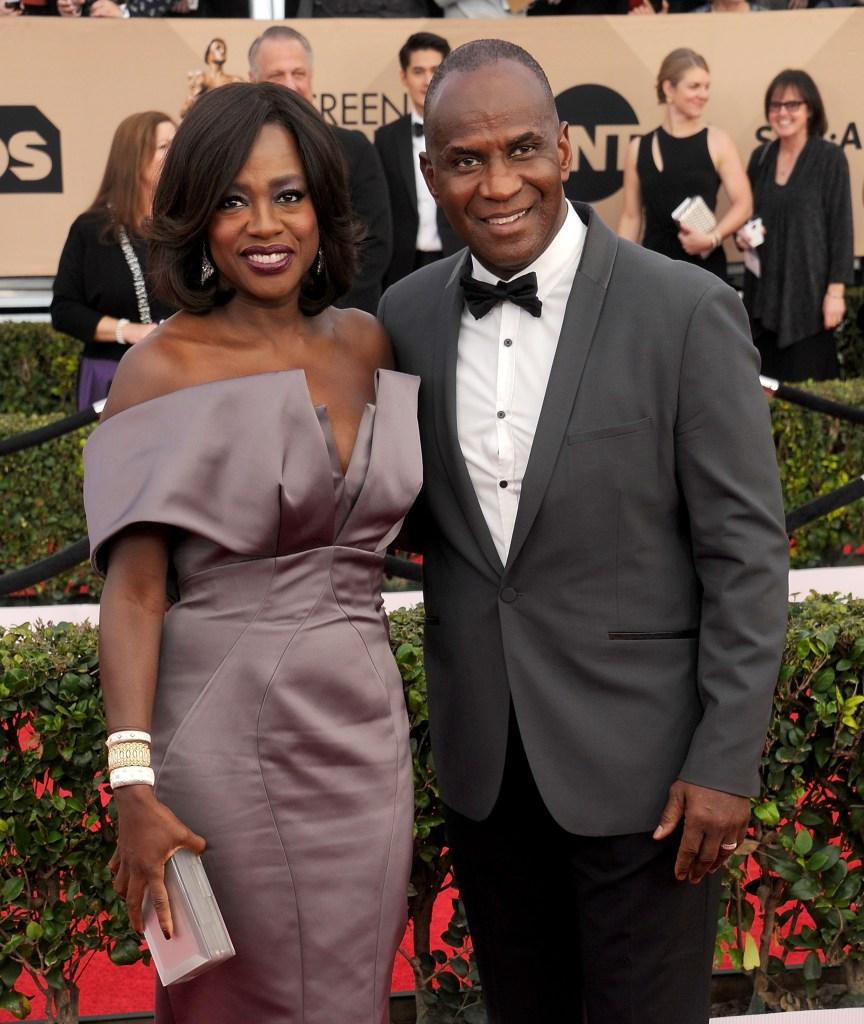 Viola Davis and her husband