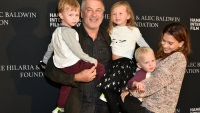 Alec Baldwin and family