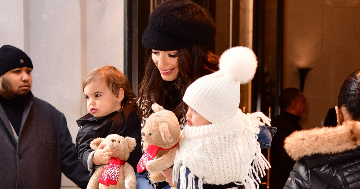 Amal clooney makes rare appearance with her twins ella and for Ella s kitchen coupons