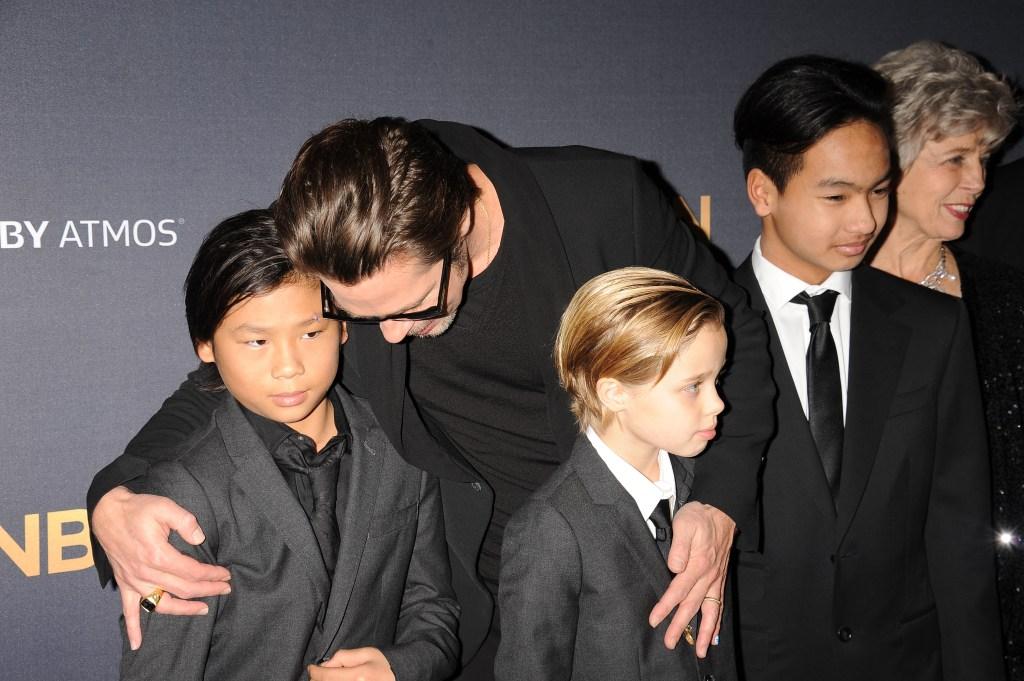 Brad Pitt Kids