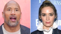 Dwayne Johnson Emily Blunt