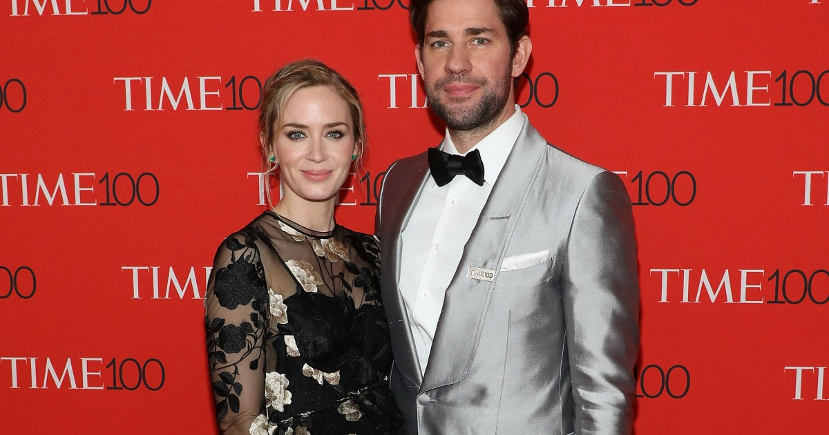 John Krasinski And Emily Blunt Talk Their First Date And