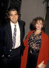 George Clooney Talia Balsam