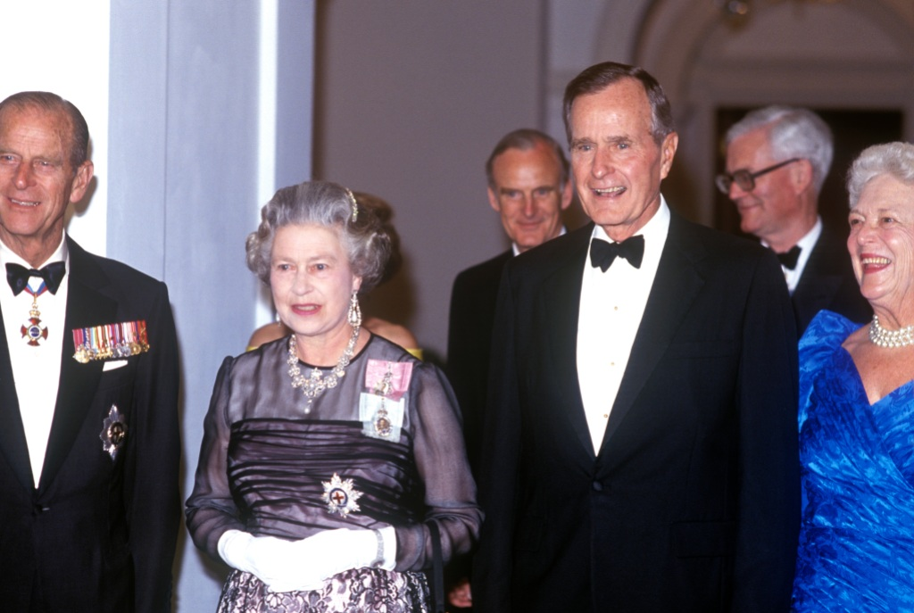 the Queen and George