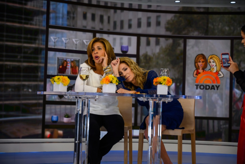 Hoda and Katie