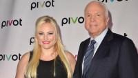 John McCain and Meghan McCain