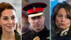 Kate Middleton, Prince William, Carole