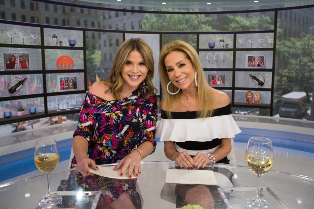Kathie Lee and Jenna Bush