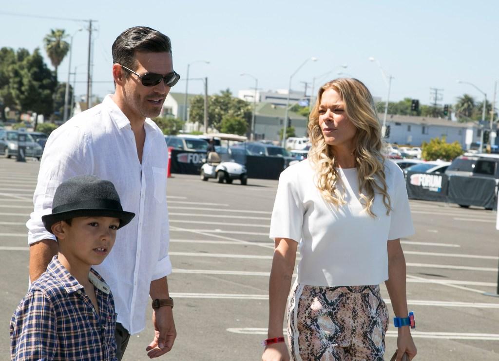 LeAnn, Eddie and son