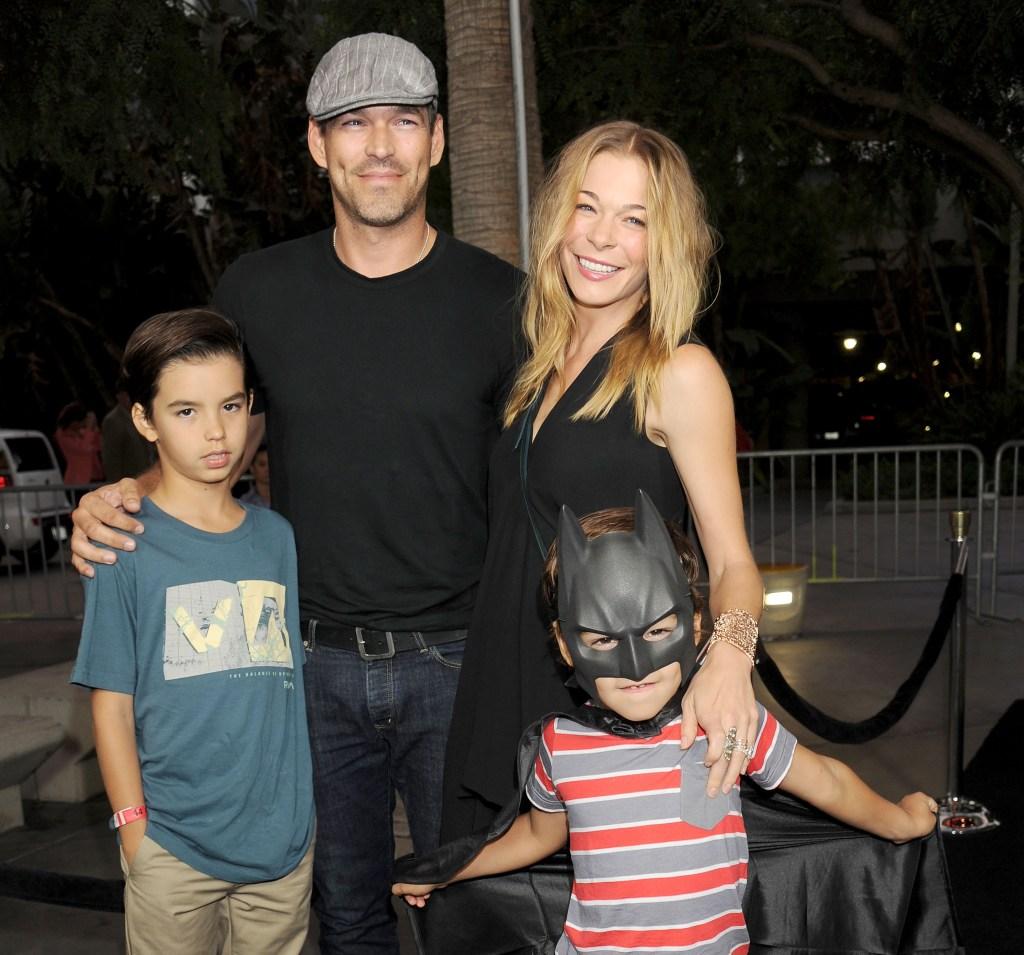 LeAnn and Eddie Family