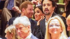 Lin-Manuel, Meghan, and Harry