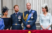 Meghan, Harry, William, and Kate