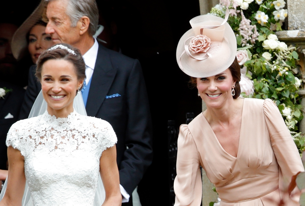 Kate Middleton and Pippa