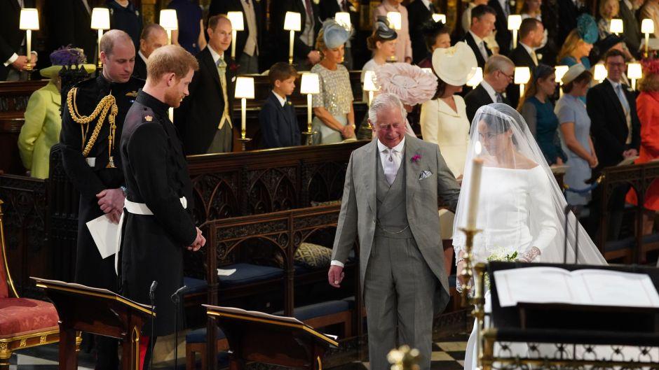 Prince Charles with Meghan Markle