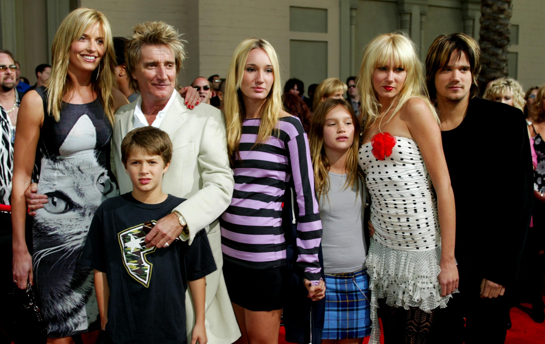 Image result for Rod Stewart: 8 kids