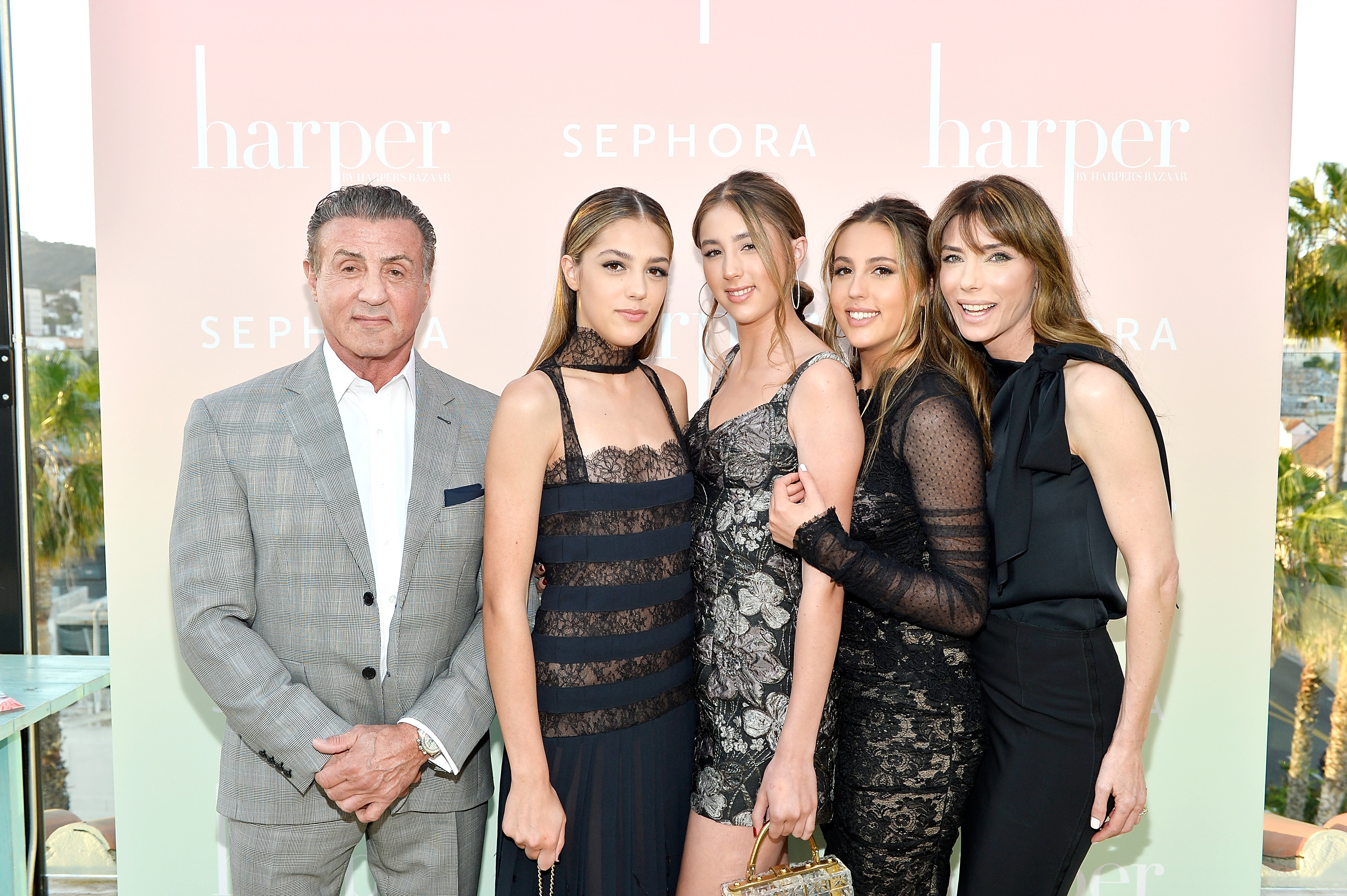 Sylvester Stallone S Family Get To Know The Actor S Kids