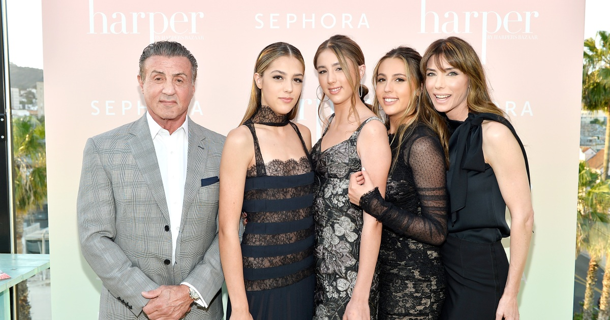 Sylvester Stallone's Family: Get to Know the Actor's Kids