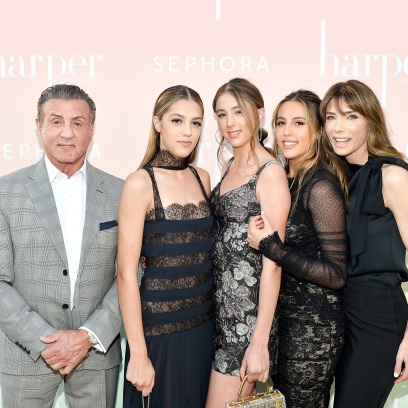 Sly Stallone Family 2