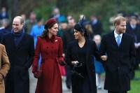 William, Kate, Meghan, Harry