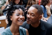 Willow and Will Smith
