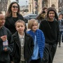 Angelina Jolie Sighting in Paris