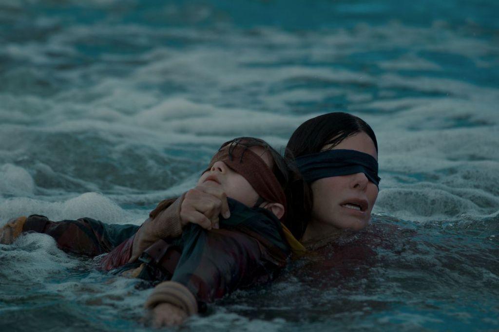 Sandra Bullock Dishes On Her New Netflix Film Bird Box