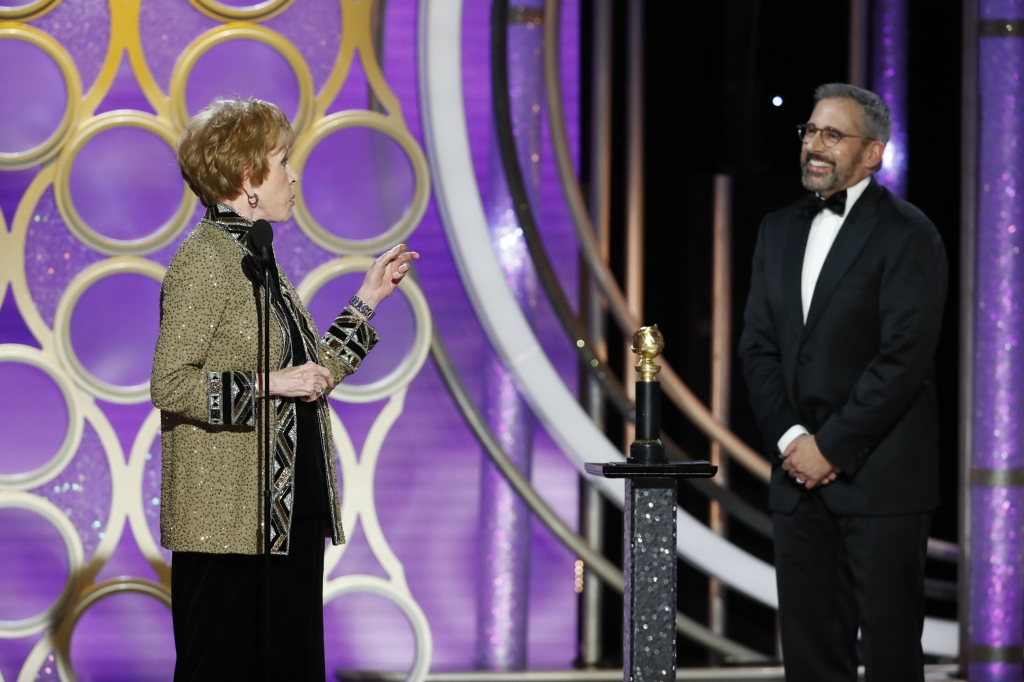 Carol Burnett Golden Globes