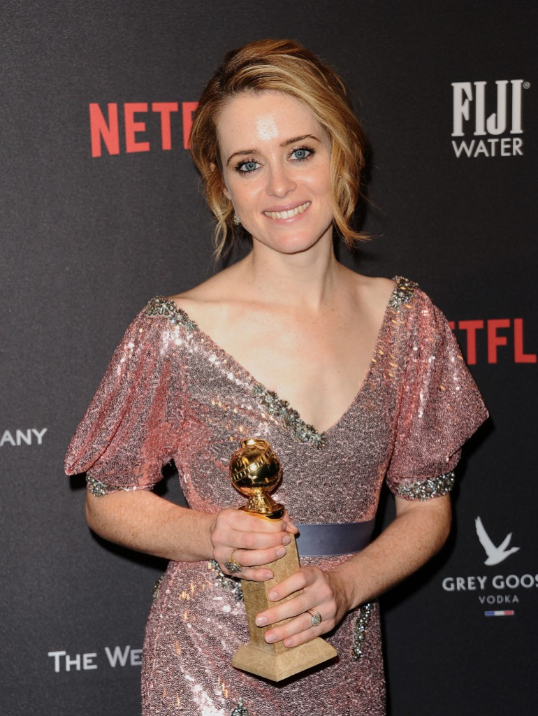Claire Foy Golden Globes