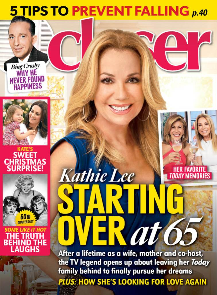 Kathie Lee Gifford Closer Weekly Cover