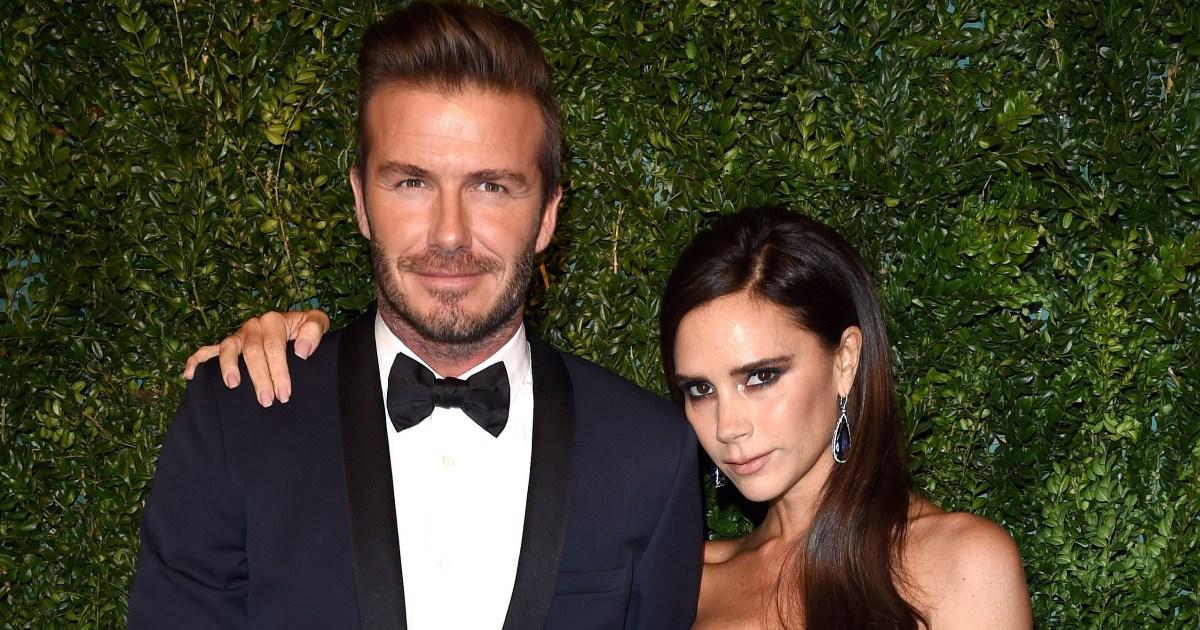 David Beckham Reveals He Steals Wife Victoria Beckham's Beauty Products