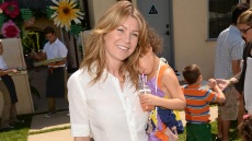 BEVERLY HILLS, CA - JUNE 09: Actress Ellen Pompeo and Chris Ivery with daughter Stella Ivery attend the 1st Annual Children Mending Hearts Style Sunday on June 9, 2013 in Beverly Hills, California. (Photo by Donato Sardella/Getty Images for Children Mending Hearts)