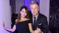 hilaria-baldwin-alec-baldwin-black-dress-black-tux-hola-usa-launch