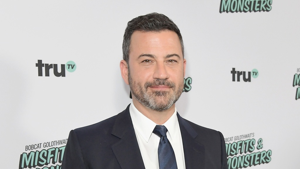 HOLLYWOOD, CA - JULY 11: Jimmy Kimmel attends Bobcat Goldthwait's Misfits & Monsters Premiere Event at The Hollywood Roosevelt Hotel on July 11, 2018 in Hollywood, California. 392403. (Photo by Charley Gallay/Getty Images for truTV)