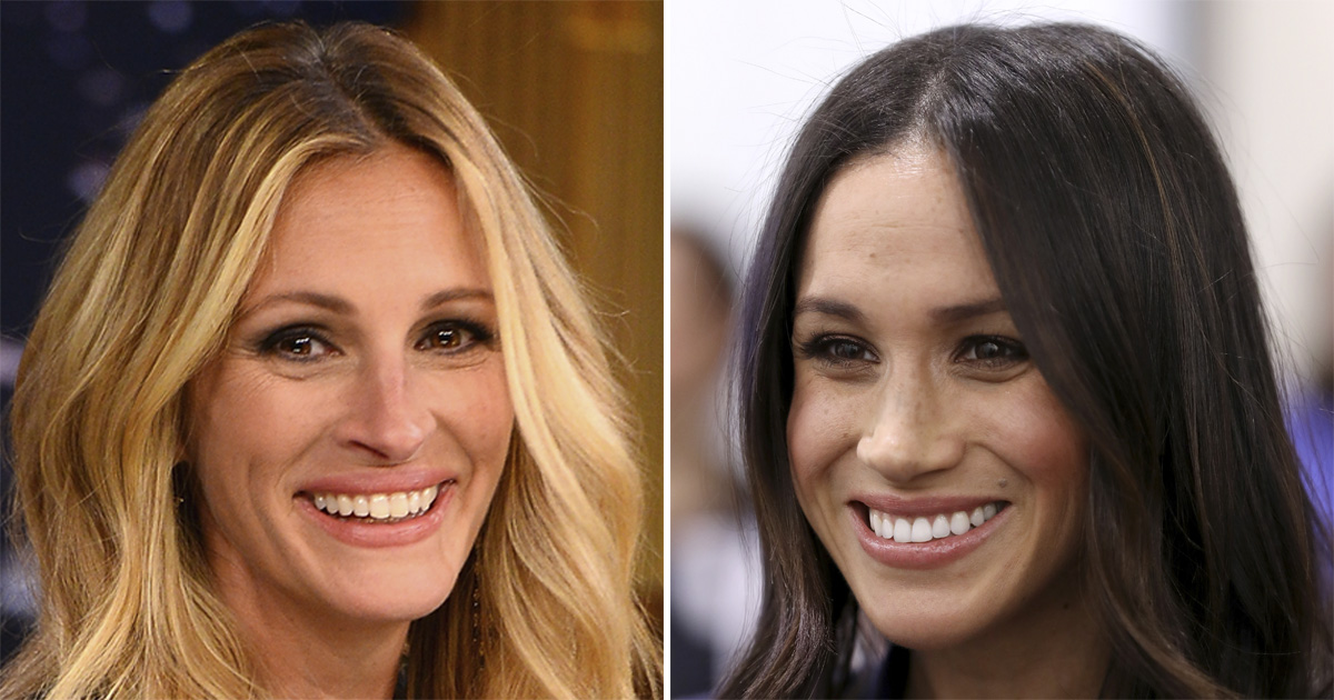 Julia Roberts Gushes About Being Meghan Markle S Acting