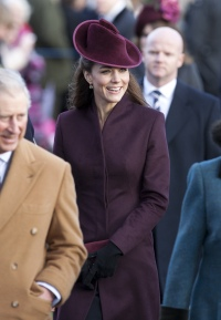 Kate Middleton Christmas 2011