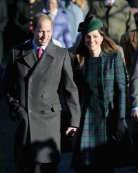 Kate Middleton Christmas 2013