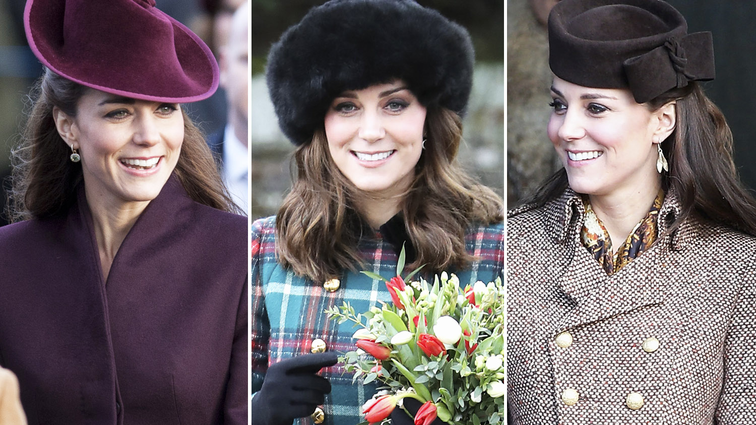 fbb21ed57127 See All Of Kate Middleton's Gorgeous Christmas Day Outfits Through The Years
