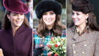 Kate Middleton Christmas Outfits
