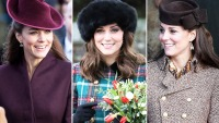 Kate Middleton Christmas Outfits