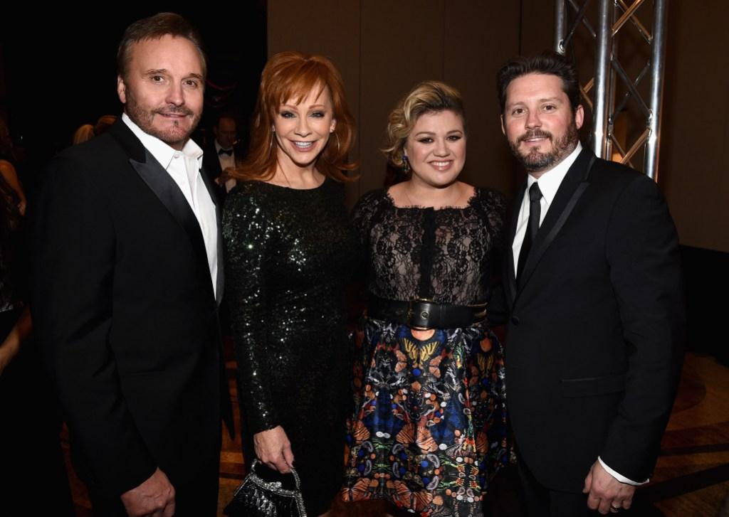 Reba McEntire Kelly Clarkson Family
