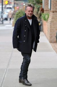 John Mellencamp out and about, New York, USA - 01 Mar 2017